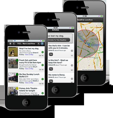 TiCL : Smartphone App Download